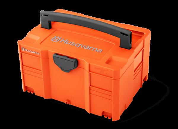 Box na batérie Husqvarna – stredne veľký Akumulátorové výrobky