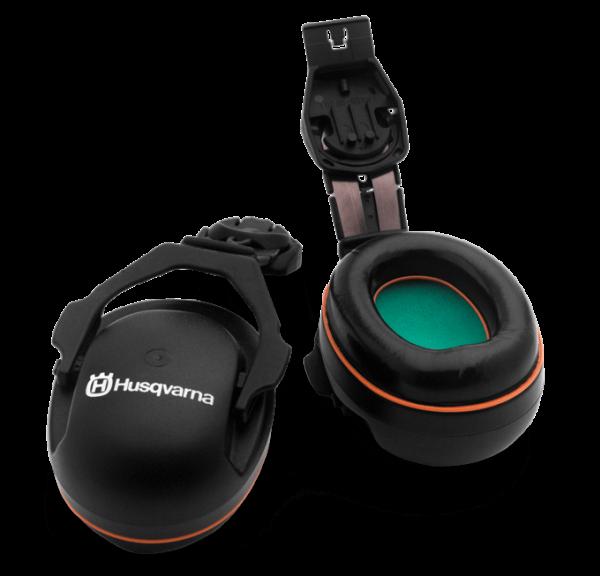 Chrániče sluchu – pre pripevnenie k prilbe Prilby