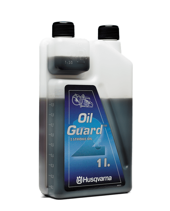 Dvojtaktný olej, Oil guard Oleje pre dvojtaktné motory