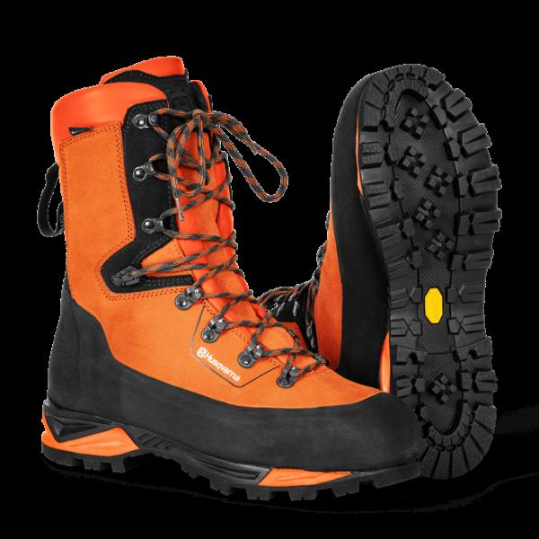 Kožená obuv Technical s ochranou proti prerezaniu 24 m/s Pracovná obuv